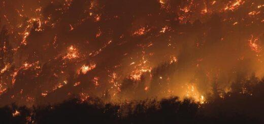 Chubut: cientos de evacuados y más de 200 casas destruidas por los incendios