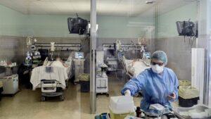 Coronavirus: alarmante aumento de internados en el Área Metropolitana de Buenos Aires