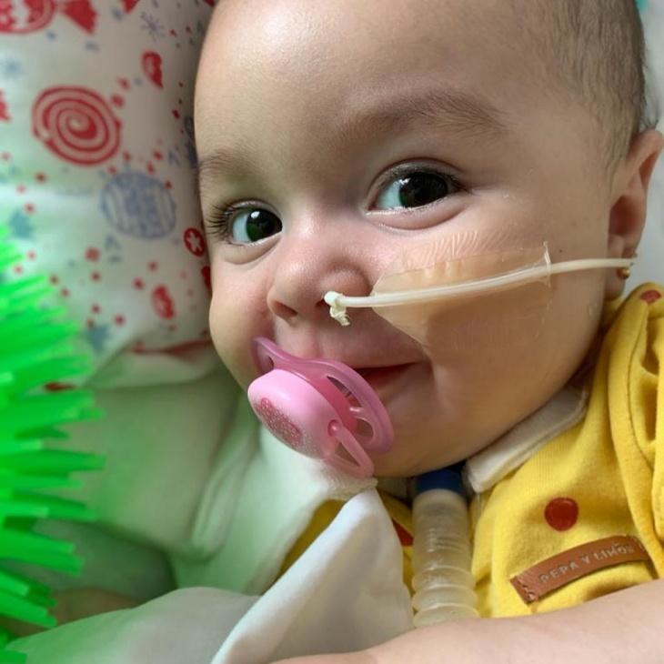 Todos con Emmita: quedan 273 días para cambiarle la vida a la beba chaqueña