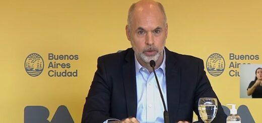Horacio Rodríguez Larreta anunció que irá a la Justicia para mantener las clases presenciales en CABA