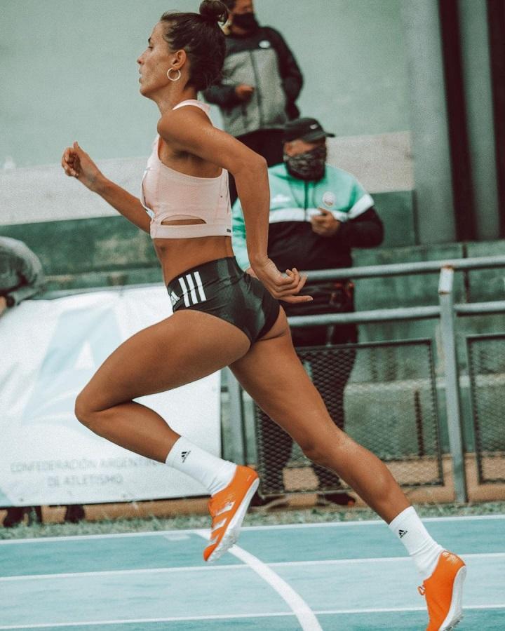 La misionera Valeria Baron gritó campeón en el Campeonato Nacional de Atletismo
