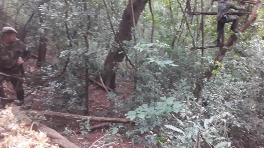 Esperaba en una trampa para animales del monte nativo, pero fue sorprendido por Guardaparques y terminó preso