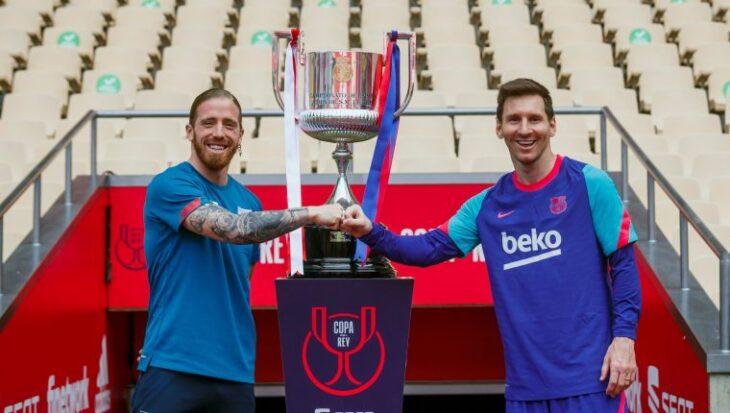 Barcelona – Athletic de Bilbao: desde las 16:30 por la final de la Copa del Rey, con Lionel Messi como titular