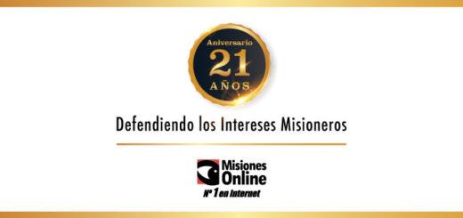 Misiones Online cumple hoy 21 años