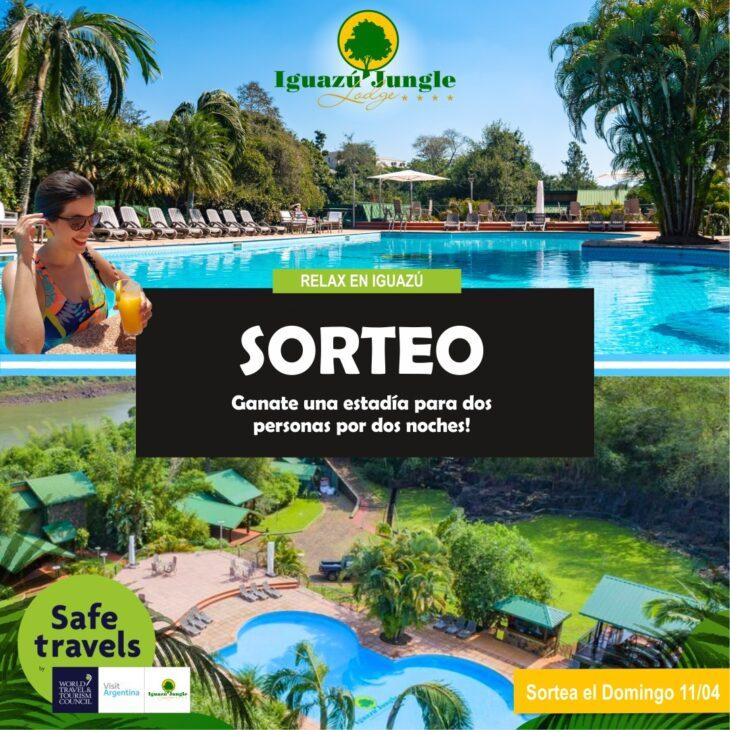 Últimos días para participar del increíble sorteo en el Iguazú Jungle Lodge: dos noches para dos personas en una experiencia inolvidable