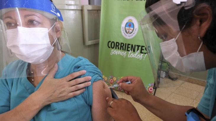 Vacunación coronavirus: Corrientes comienza a vacunar a personas inmunocomprometidas