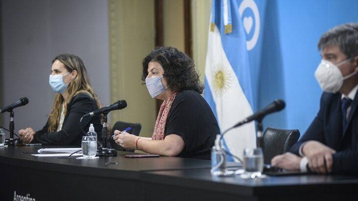 Vizzotti defendió la suspensión de clases presenciales: «Argentina está en el peor momento»