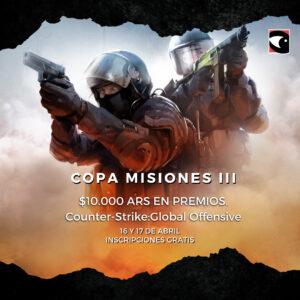 Culminó la 3° Edición de la Copa Misiones de Counter-Strike:Global Offensive.