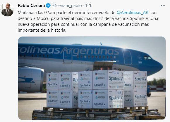 Vacunación en Argentina