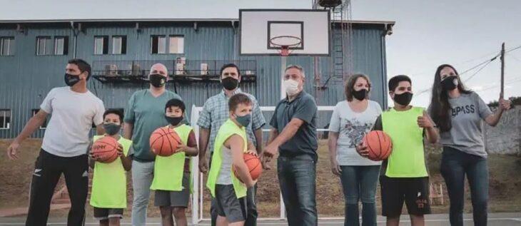 Presentaron la primera escuela de básquet en el DIAT Sedronar Eldorado