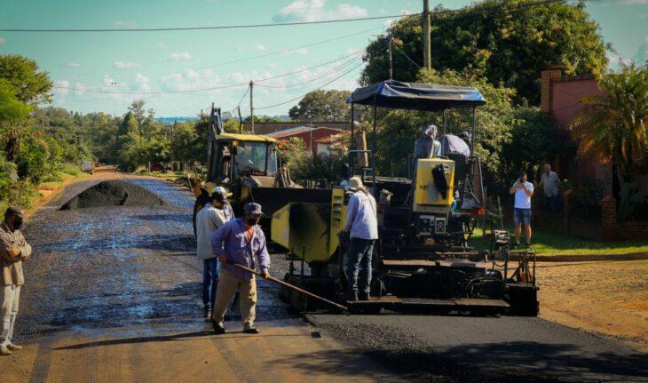 Pavimento Urbano: se concluyeron trabajos de asfalto sobre empedrado en 20 cuadras de Apóstoles