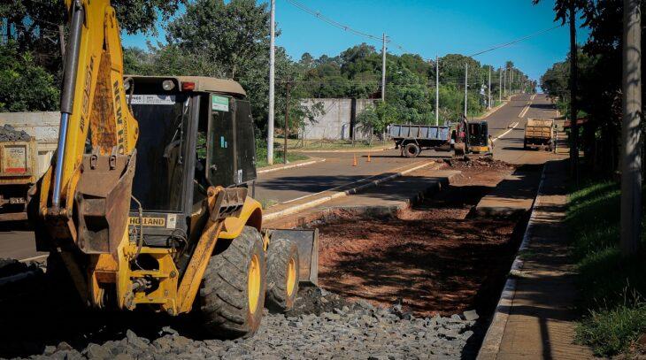 Vialidad de Misiones terminó trabajos de repavimentación en zona urbana de Candelaria