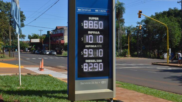 Aumentó el combustible en Posadas y la Premium superó los 100 pesos