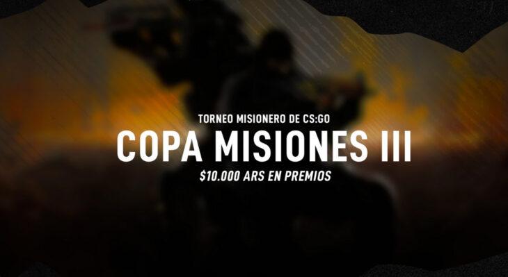 La 3ra fecha de la Copa Misiones de CS:GO será el 17 y 18 de Abril