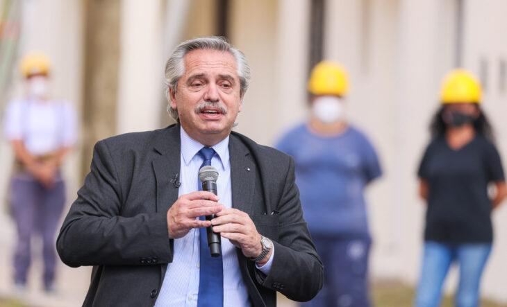 """Alberto Fernández """"Hacer viviendas no es solamente darle un techo a cada uno es darle condiciones de vida"""""""