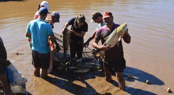 Piscicultores de Campo Viera vendieron más de 40 mil kilos de pescados en Semana Santa