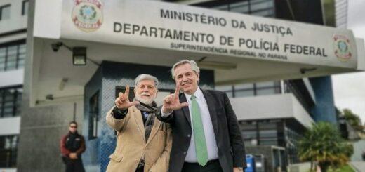 """Alberto Fernández se solidarizó con el ex presidente brasileño Lula Da Silva y pidió """"terminar con la arbitrariedad judicial"""""""
