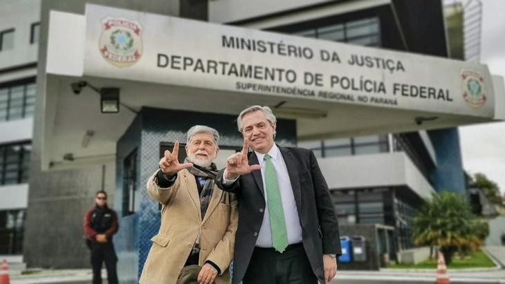 Alberto Fernández se solidarizó con el ex presidente brasileño Lula Da Silva y pidió «terminar con la arbitrariedad judicial»