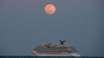 Las mejores imágenes que dejó de la Superluna rosa