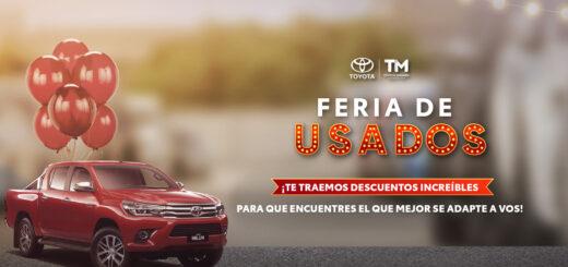 """Se realizará la """"Gran Feria de Usados"""" en Toyota Misiones"""