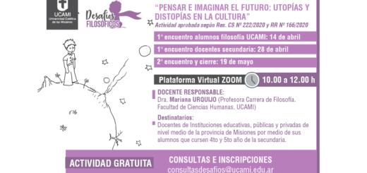 La UCAMI abrió las inscripciones al 5° Desafío Filosófico bajo modalidad virtual