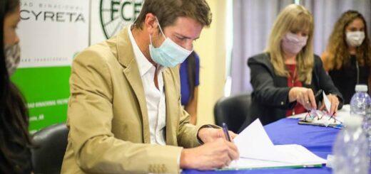 Eldorado: convenio entre Yacyretá y la UNaM para el dictado de la Licenciatura en Trabajo Social