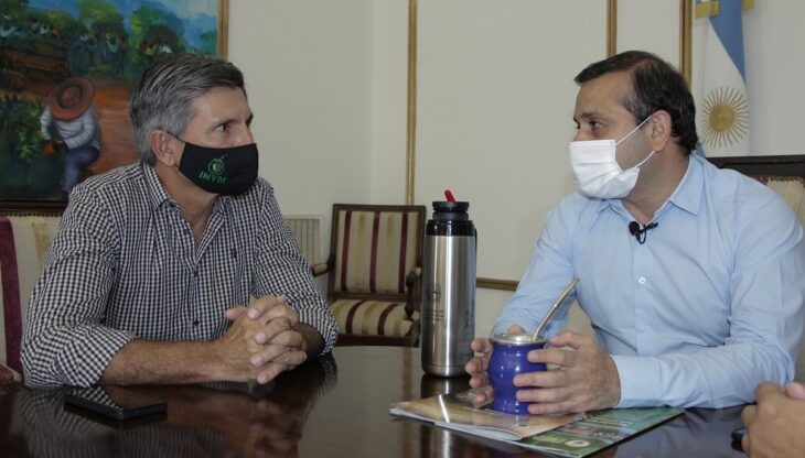 INYM: se realizó una reunión de trabajo con el gobernador de Misiones, Oscar Herrera Ahuad