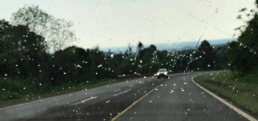 Un frente frío que se desplaza por la región provoca lluvias en todo Misiones y algunas tormentas aisladas