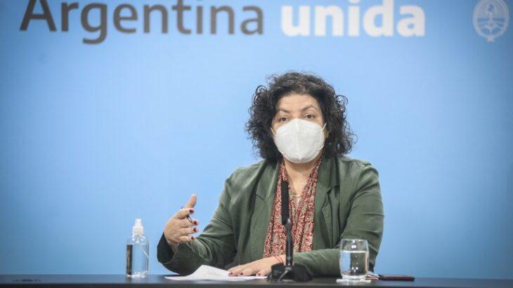 Carla Vizzotti se reunirá hoy con sus pares provinciales para dialogar sobre los controles vigentes ante el coronavirus