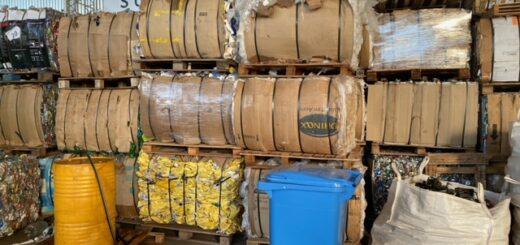 5500 kilos de residuos inorgánicos