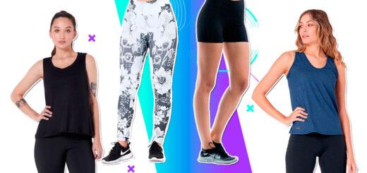 Punto 1: ¡Entrená con las prendas deportivas más cómodas y cancheras!