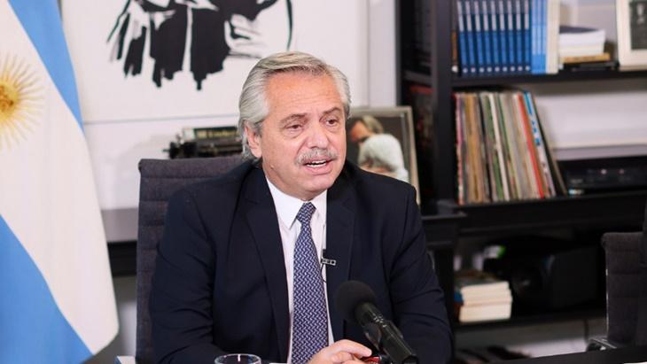 Alberto Fernández pidió garantizar la producción y distribución equitativa de vacunas contra el coronavirus