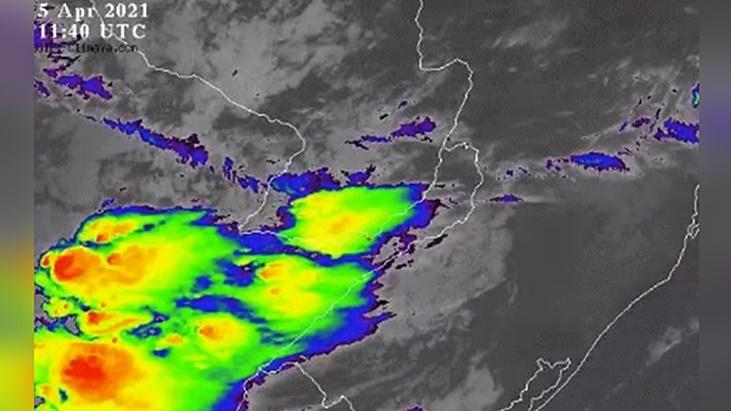 Anticipan que las lluvias comenzarían al mediodía en el sur de Misiones