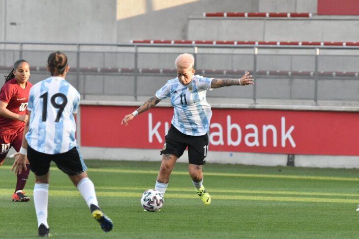 Fútbol Femenino: con Yamila Rodriguez como titular, la Selección Argentina igualó sin goles ante Venezuela