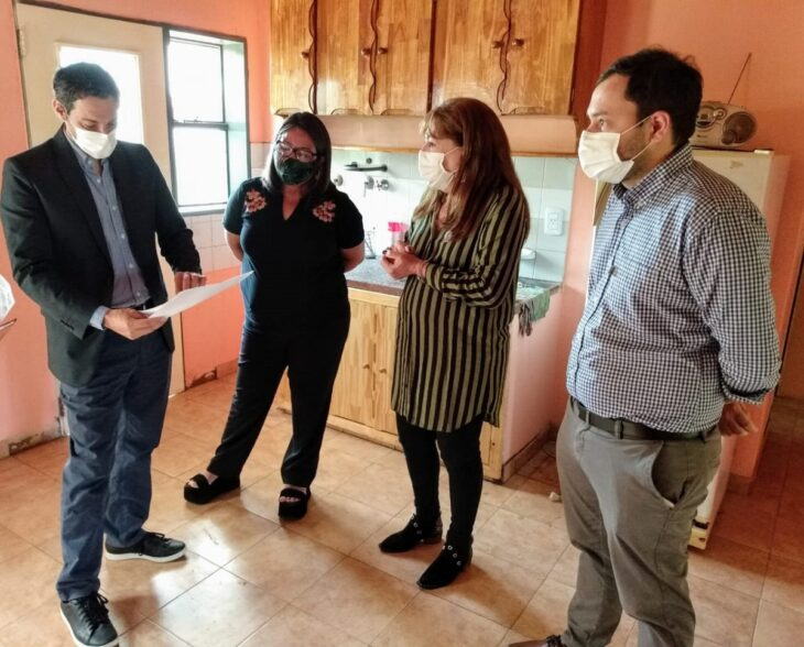 Habilitaron una nueva casa refugio para víctimas de violencia familiar en la Provincia