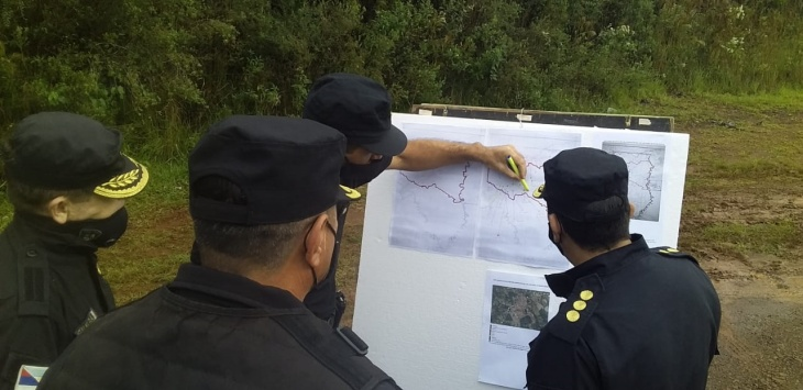 Intensifican los operativos de controles rurales en distintos puntos de Misiones