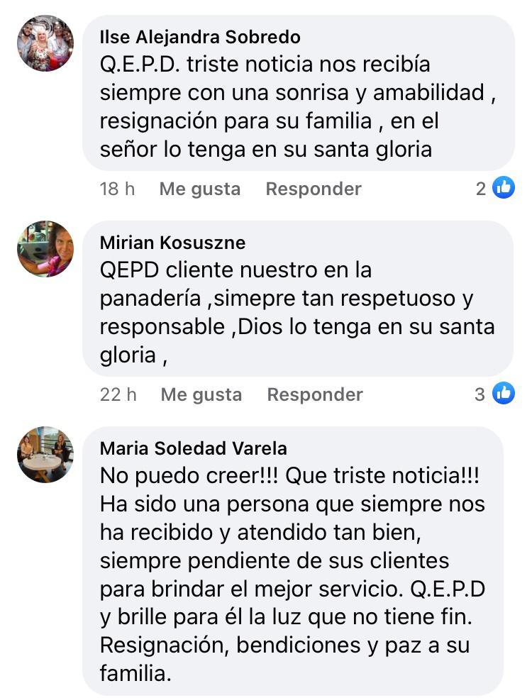Marcelo, conocido mozo del restaurante El Rancho falleció ayer y en redes sociales se multiplicaron las muestras de cariño hacia él y su familia