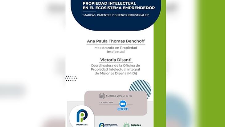 El PIIP presenta una charla sobre propiedad intelectual para emprendedores