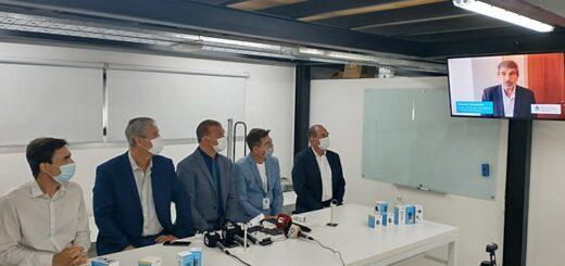 FanIOT: con el acompañamiento del ministro Salvarezza de forma virtual, presentaron dispositivos de medición de dióxido de carbono
