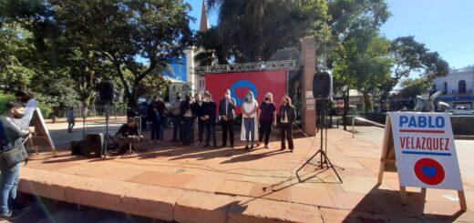 """Elecciones 2021: el candidato Pablo Velazquez presentó su sublema """"El Camino Seguro"""" para competir por un lugar en el Concejo Deliberante de Posadas"""
