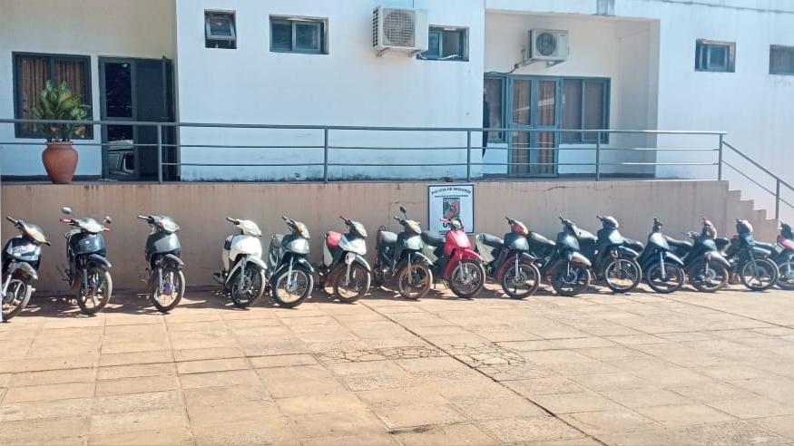 menores de edad robaron 17 motos