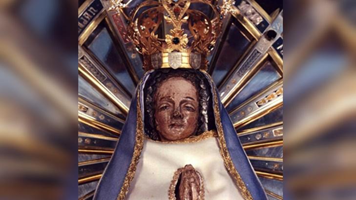 El pasado 29 de abril, comenzó a la novena federal a la Virgen de Luján