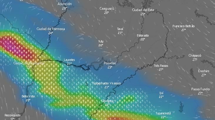 El pronóstico para Misiones anticipa fin de semana con tiempo bueno en la provincia