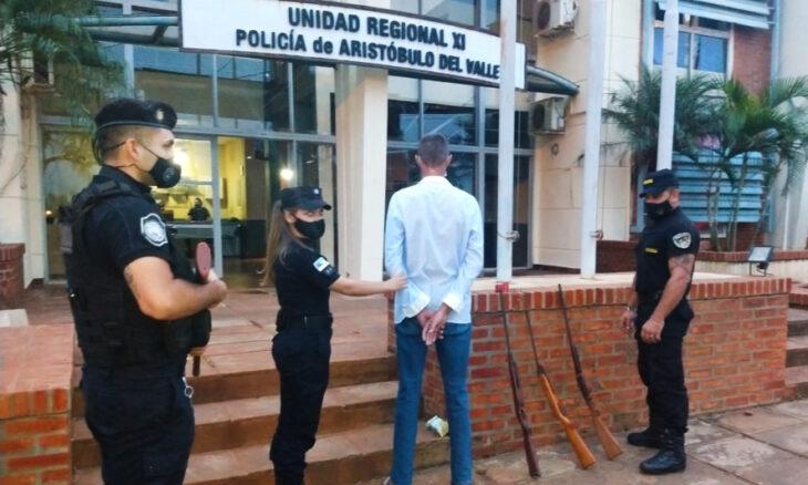 Detienen en Aristóbulo del Valle a un hombre acusado de abuso sexual contra su hijastra desde que tenía 12 años