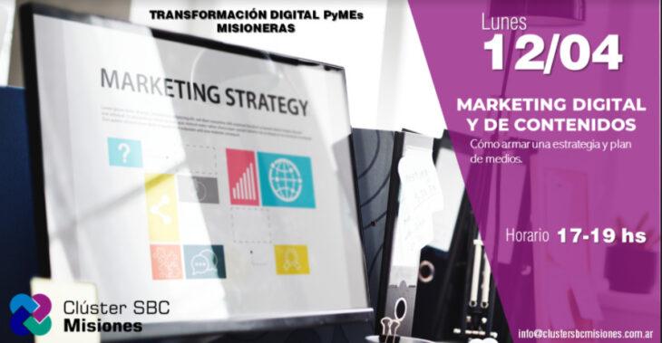 """Hoy el Clúster SBC Misiones dará una capacitación gratuita sobre """"Marketing Digital y de Contenidos"""""""