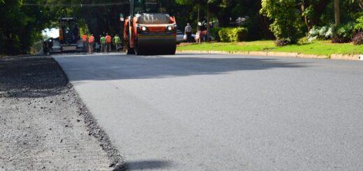 Leonardo Stelatto destacó las 950 cuadras de asfalto que se sumaron a las calles de Posadas