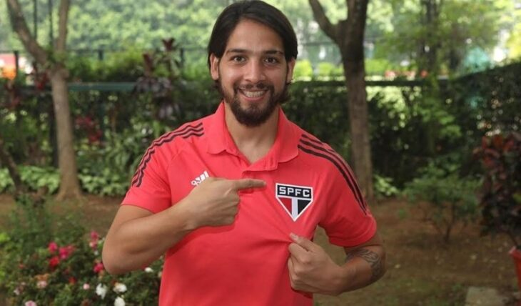 """Surgió en La Picada de Posadas y hoy defiende los colores de San Pablo: """"Es un club con mucha historia"""", expresó Martín Benítez"""