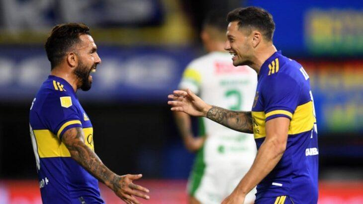 Empezó abajo, pero gracias al fútbol de Tévez, Boca se impuso 2 a 1 ante Defensa y Justicia