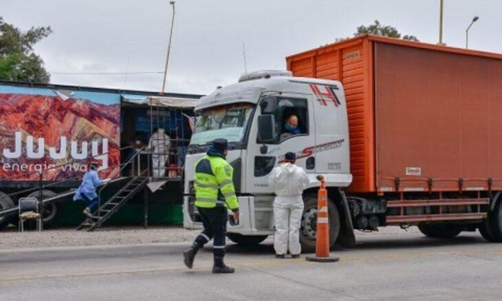 Camioneros de Paraguay circulaban con resultados de PCR falsos en Jujuy