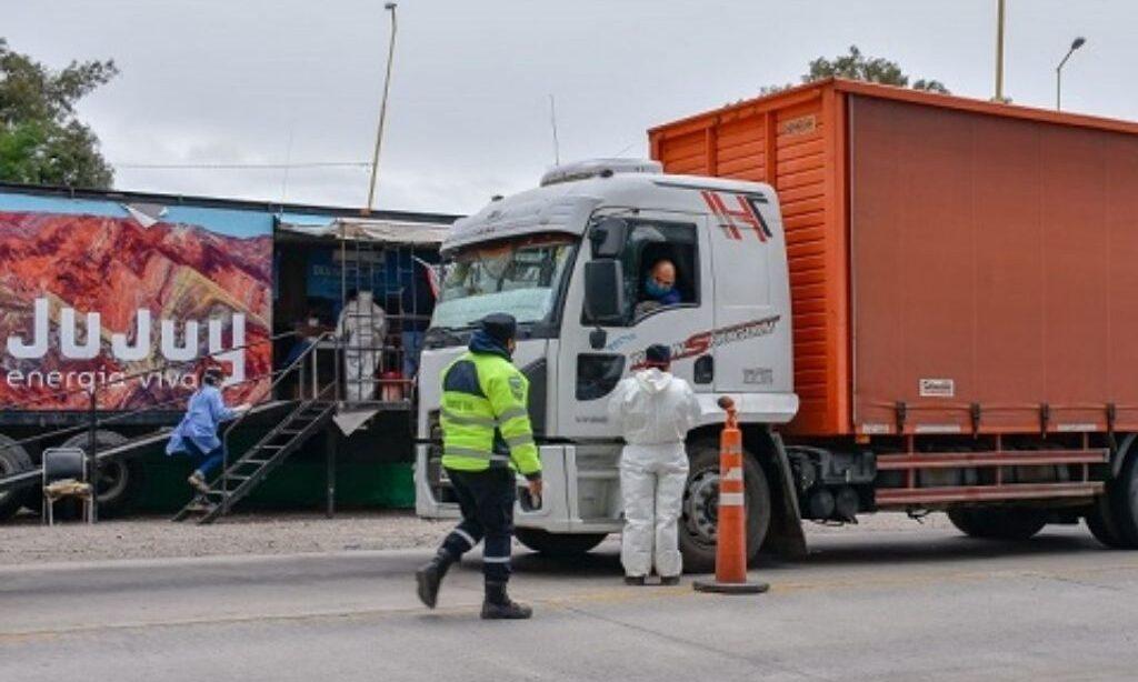 camioneros de paraguay con pcr falsos